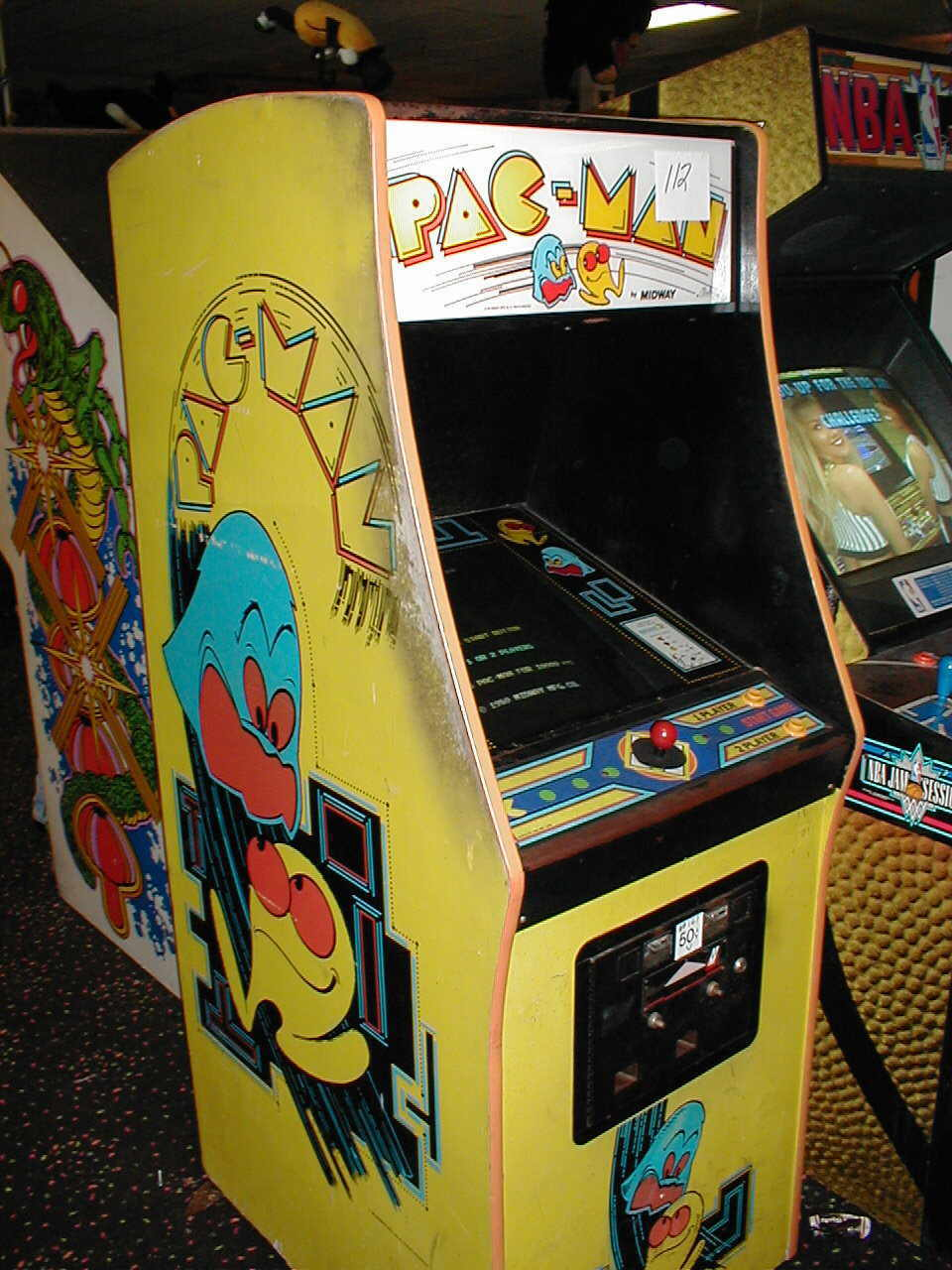 used pacman machine